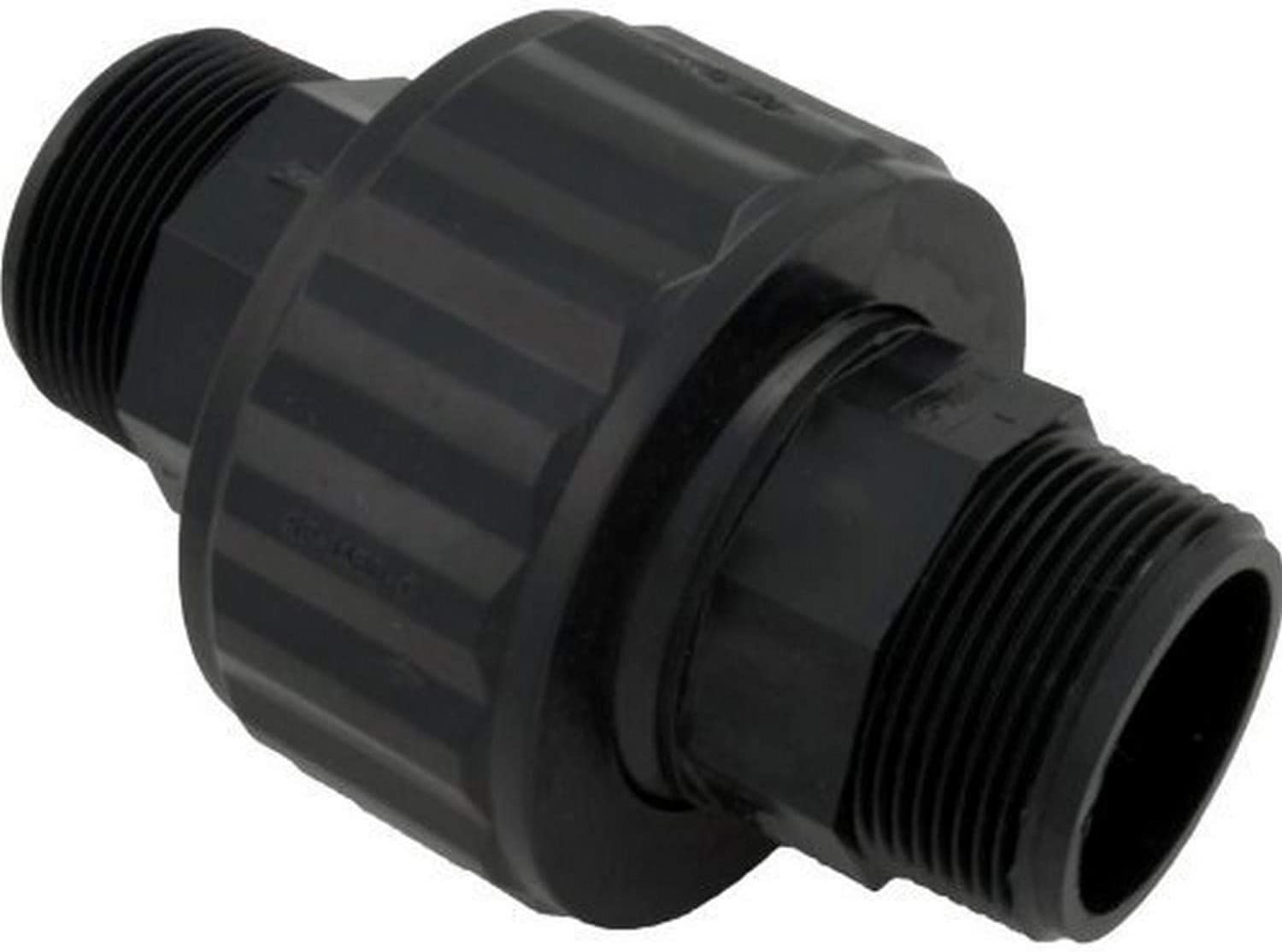 Hayward SP1480BLK 1-1/2-Inch MIP Black Self-Aligning Double Male End Union Replacement for select Hayward DE and Cartridge Filters
