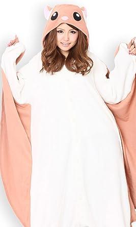 56407b3a0011 Amazon.com  SAZAC Flying Squirrel Kigurumi - Adult Costume  Clothing