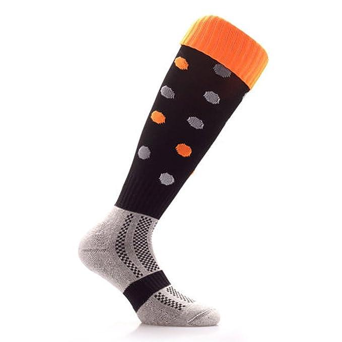Samson Hosiery® Lunares Halloween rodilla alta calcetines de la novedad fiesta Funky tema Kids - Camiseta para hombre: Amazon.es: Ropa y accesorios