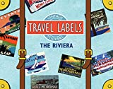 The Riviera Luggage Labels (Travel Stickers)