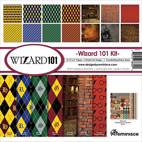 Reminisce Wizard 101 Collection Kit -