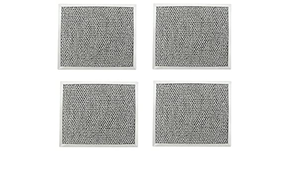 4 PACK Broan S97006931 Compatible Range Hood Mesh Grease Filter Replacement