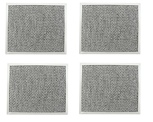 ( 4 Pack ) Range Hood Grease Filter Aluminum Mesh for Broan 97006931 BP29 Gxfc by XT