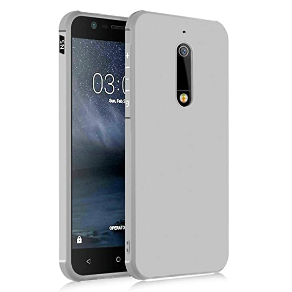 free shipping 614e7 ee564 Amazon.com: Nokia 5 Case, Business Series Shockproof Ultra Thin Soft ...