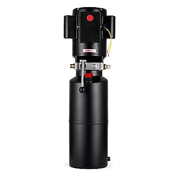 Guellin 12VDC Gato Hidráulico para Elevador de Coche 220V 50HZ Unidad de Fuerza de Elevación del Coche 3 HP 2.2 KW Unidad de Alimentación de Bomba ...