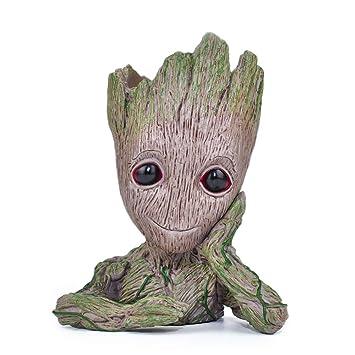 Wächter der Galaxy Baby Groot Sitting Baby Action Figur Spielzeug Geschenke NEU
