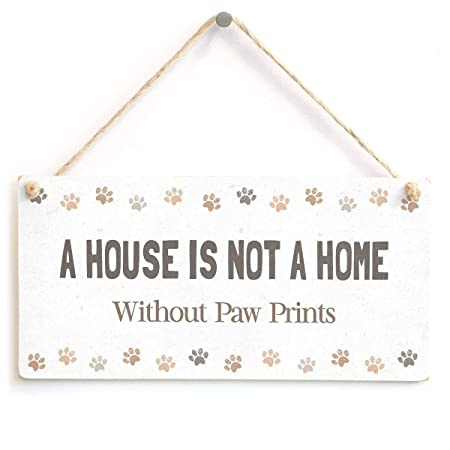 Mr.sign a House Is Not a Home Cartel de Pared Madera Placa ...