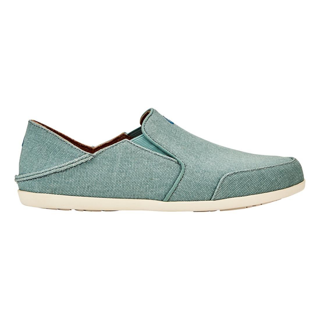 OLUKAI Waialua Canvas Shoes - Women's B079458W9R 11 B(M) US|Mineral Blue