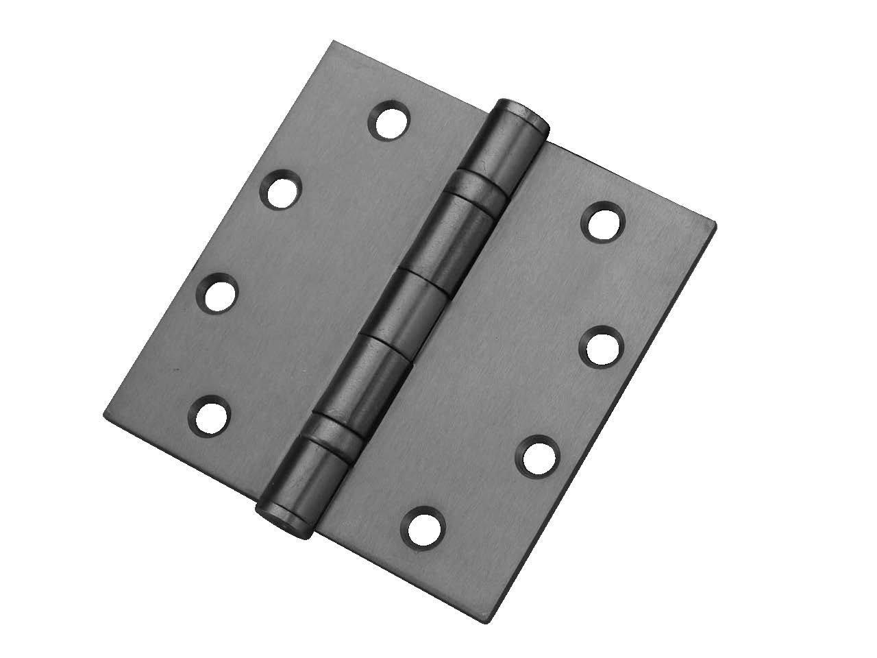Don-Jo BB74545 Steel Mortise Mount Full Ball Bearing Hinge, Satin Chrome Plated, 4-1/2'' Width, 4-1/2'' Length (Pack of 24)
