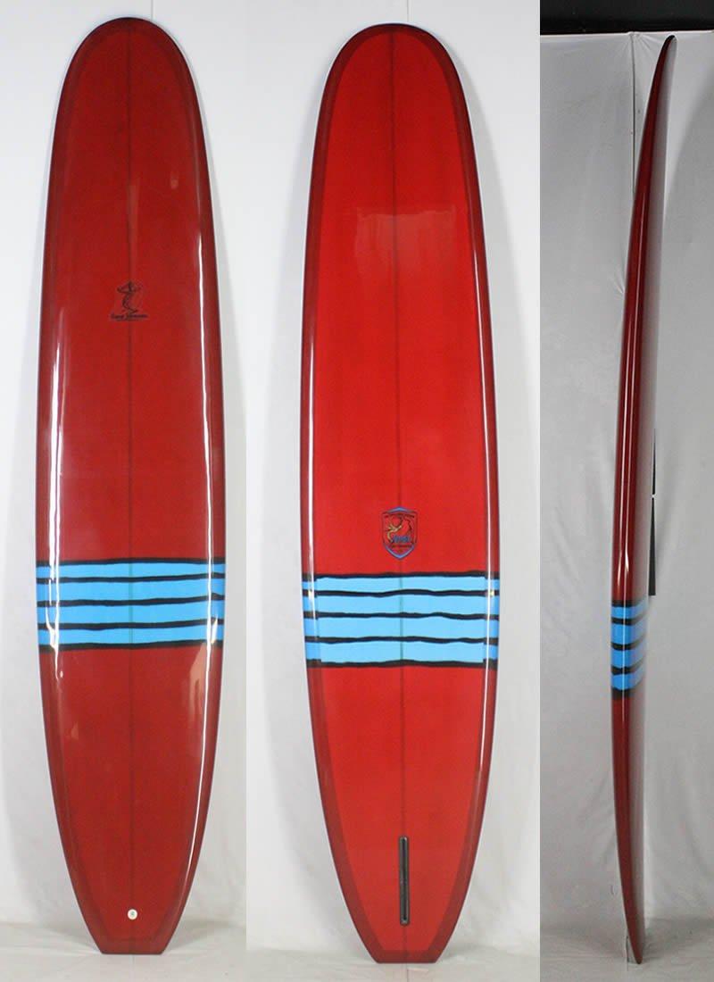 【★安心の定価販売★】 GORDIE SURFBOARD (ゴーディー)シングルフィン クラシック GORDIE ロングボード サーフボード クラシック [RED] ロングボード B01MZ011FJ, NaNa-International:516cfee2 --- diesel-motor.pl