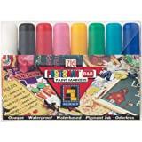 Zig 15-Millimeter Posterman Tip Markers, Multicolor, 8-Pack