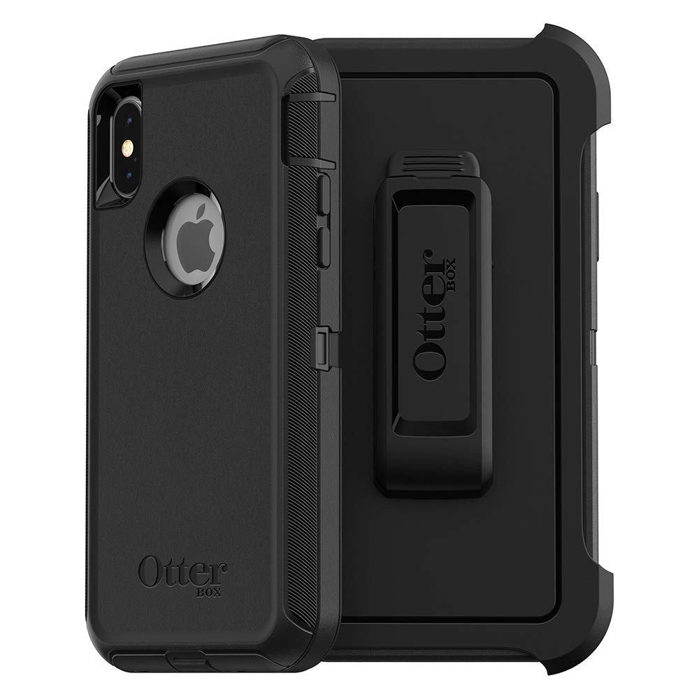 the best attitude e618f 38c6b OtterBox DEFENDER SERIES SCREENLESS EDITION Case for iPhone Xs & iPhone X -  Retail Packaging - BLACK