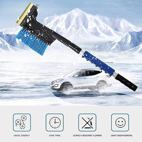Foonee Kit de Eliminación de Nieve, Kit de Cepillos para Nieve Car con Piqueta para