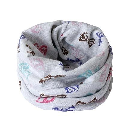 otoño invierno niños niñas collar del bebé bufanda de algodón cuello  redondo bufandas o ring pañuelos 00d04c7260d