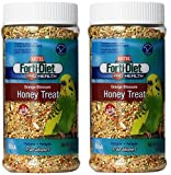 Kaytee Forti Diet Pro Health Orange Blossom Honey Bird Treats for Parakeets, 10-Ounce - 2 Pack