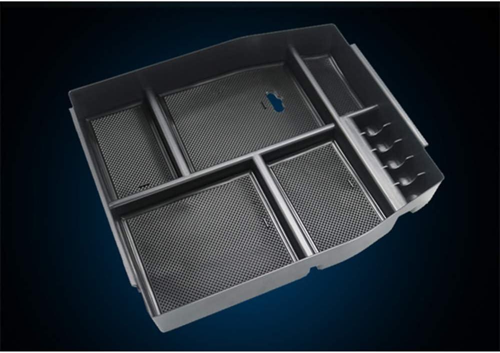 Fit pour Ford F150 F-150 2015-2018 LUVCARPB Organisateur de Voiture Accoudoir Central Porte-conteneurs de Rangement pour Accessoires de Rangement Style de Voiture