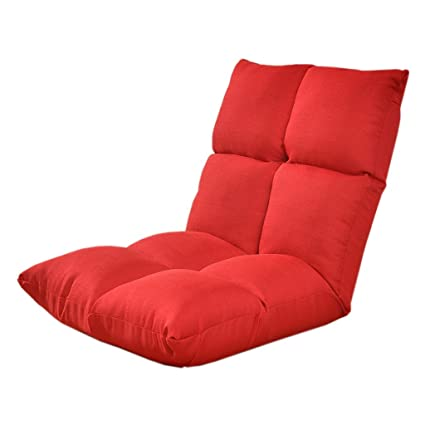 Lazy Sofa Chair Mini Folding Chair Computer Chair Tatami 6 Speed Adjustment  Super Bearing Capacity