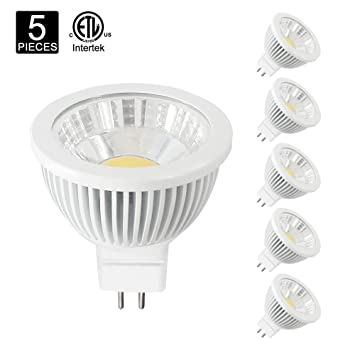 Amazon.com: poroju regulable MR16 GU5.3 LED Halógeno foco de ...