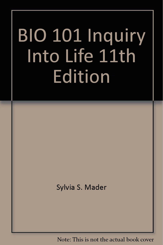 Download BIO 101 Inquiry Into Life 11th Edition PDF