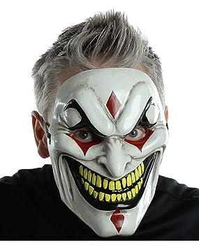 Jester máscara del horror del mal