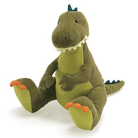 Amazon Com Gund Tristen T Rex Dinosaur Stuffed Animal Plush Green
