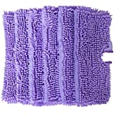 Replacement Coral Duster Pads for Shark Pocket Steam Mop S3550 S3501 S3601 S3901(Pack of 6)(Purple)