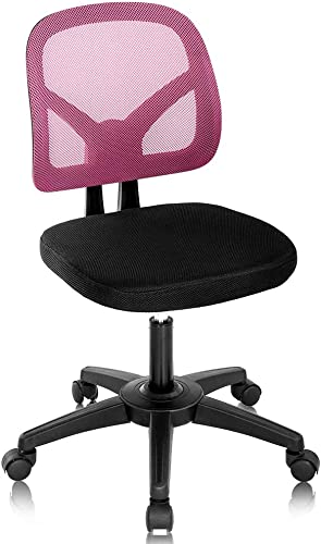 Home Office Chair Computer Chair Mid Back Mesh Chair Height Adjustable Student Chair