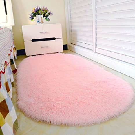 Teppich Rosa Flauschig.Pingenaneer Weich Und Flauschig Fleece Teppiche 80 X 160cm Für Wohnzimmer Und Schlafzimmer Rutschfest Saugfähig Teppich Antibakteriell Vorleger