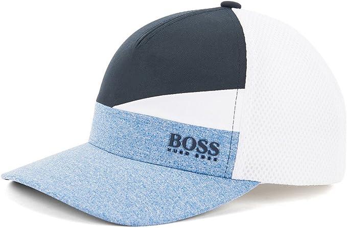 HUGO BOSS cap-iconic Colourblock Gorra béisbol (Azul): Amazon.es ...