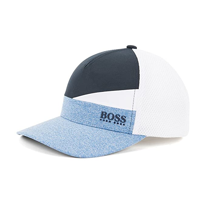 HUGO BOSS cap-iconic Colourblock Gorra béisbol (Azul)