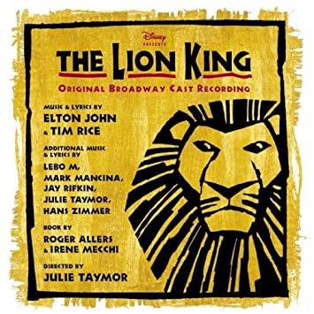 kitty carlisle the lion king original broadway cast recording by