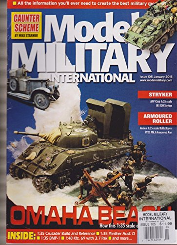 MODEL MILITARY INTERNATIONAL MAGAZINE UK #105 JAN 2015. ()