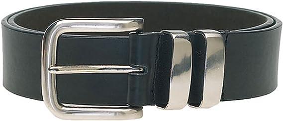 Duke Mens Double Metal Loop Fashion Belt 3.8cm Width NOAH