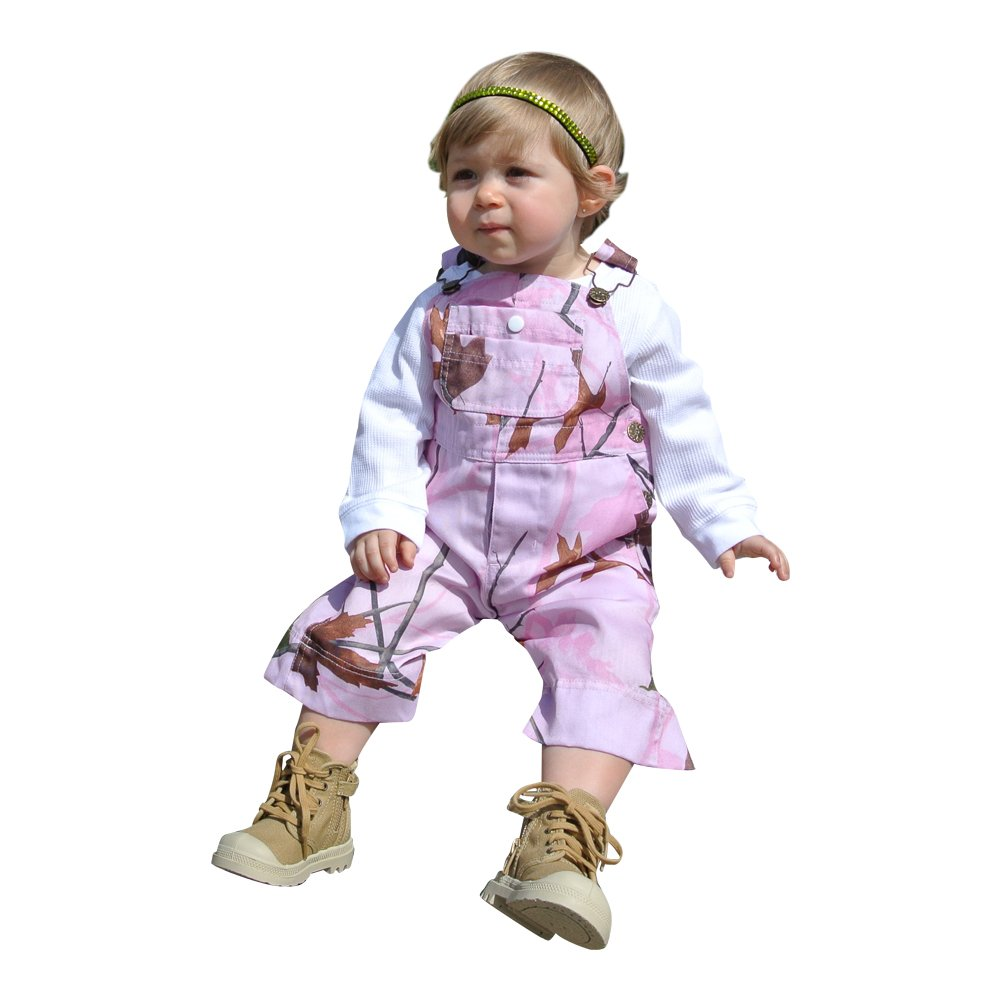 WFS Pink Camouflage Overalls (3-6M) by WFS