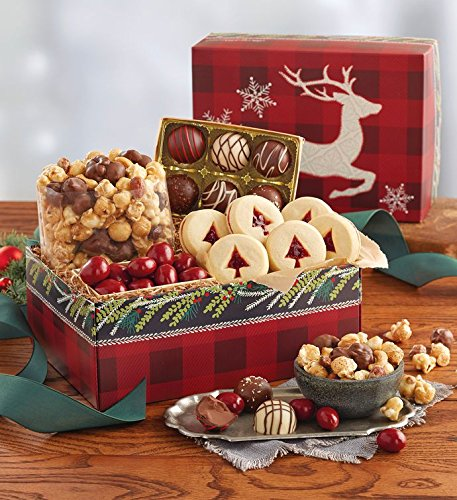 Treats Gift (Harry & David, Holiday Sweet Treats Gift Box, 1 lb. 1 oz.)