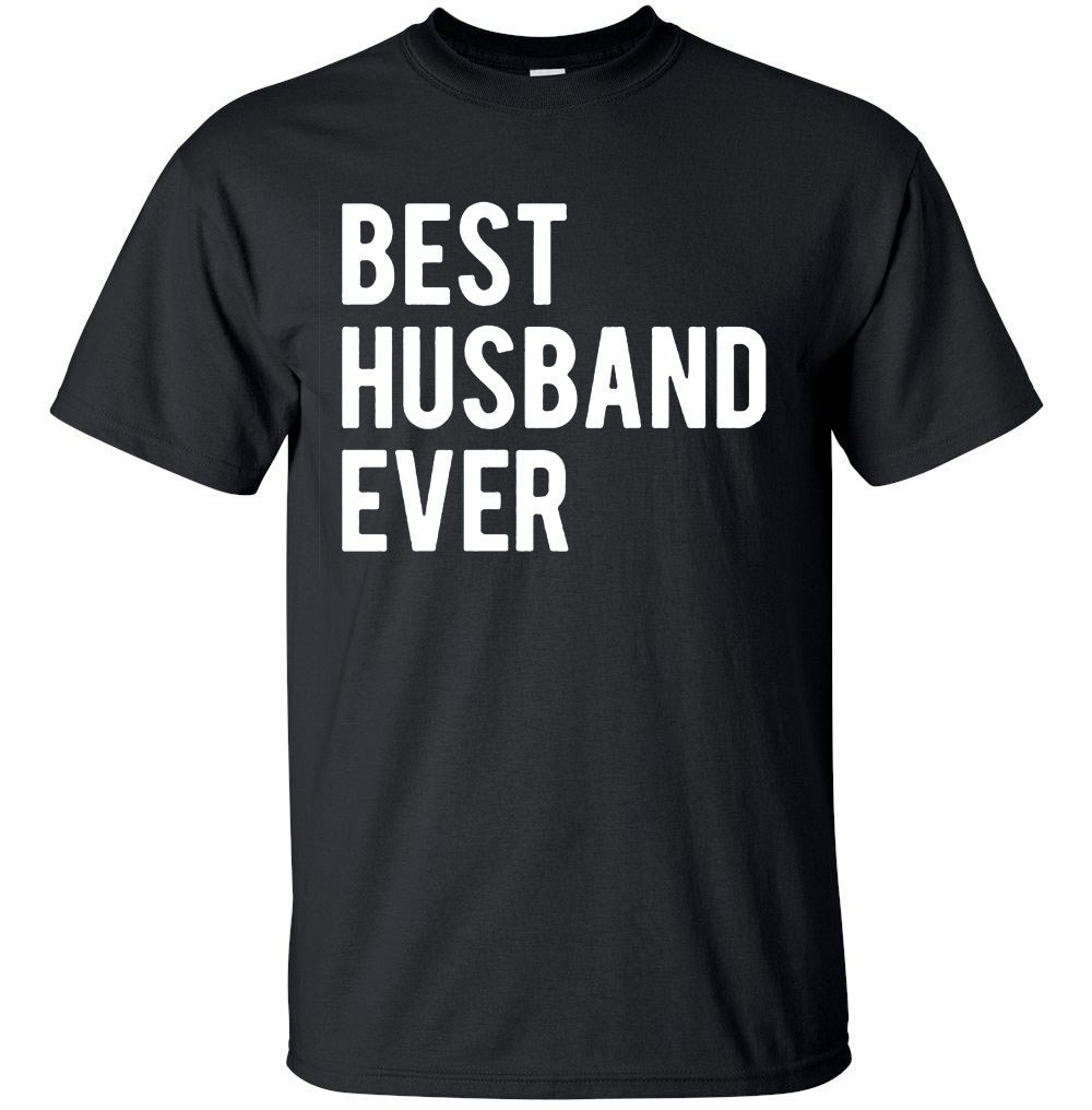 YM Wear Best Husband Ever T Shirt Funny Wedding Married Man Tee Gift (2X-Large, Black)