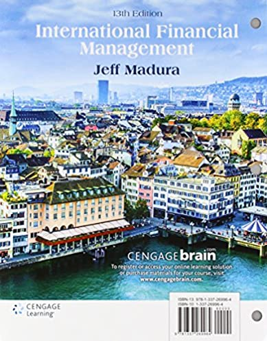 International Financial Management By Jeff Madura 9th Edition Pdf
