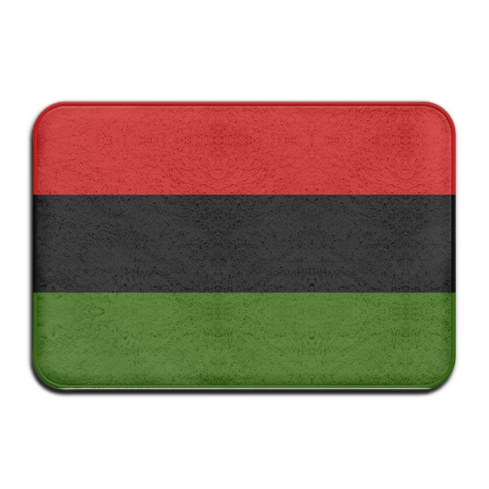 Shower Curtain pillow Black Lives Matter Flag African American Flag Non-slip Entrance/Bathroom/Kitchen/Living Room And Bedroom Doormats Rectangular 23.6 X 15.7 Inch