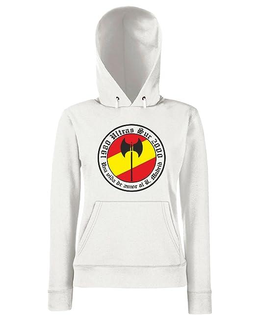 T-Shirtshock - Sudadera hoodie para las mujeras TUM0032 ultras sur real madrid, Talla L: Amazon.es: Ropa y accesorios