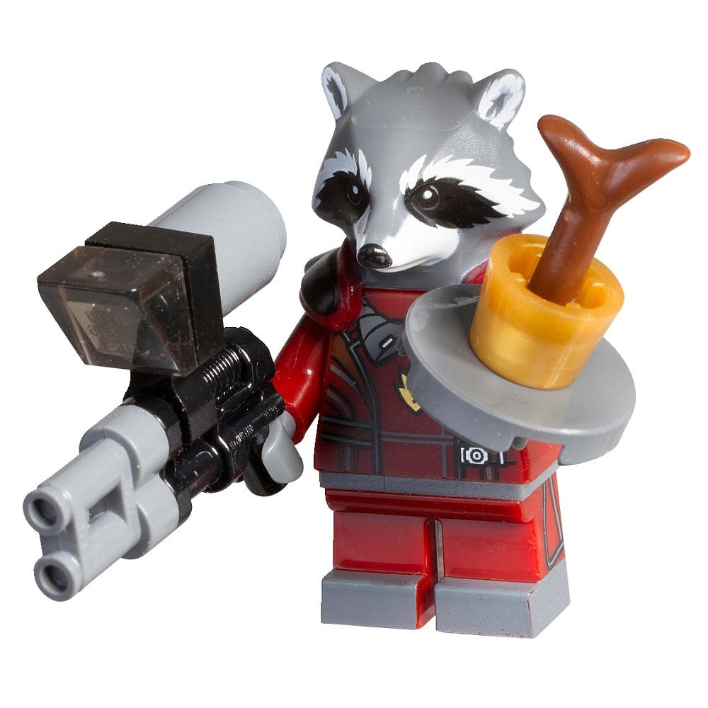 LEGO Rocket Raccoon Super Heroes Guardians of the Galaxy Minifigure Polybag Set 5002145