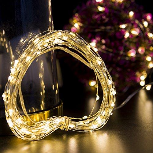 Weihnachtsbeleuchtung Mit Timer.Reviewmeta Com Wasserdichte Batteriebetriebene