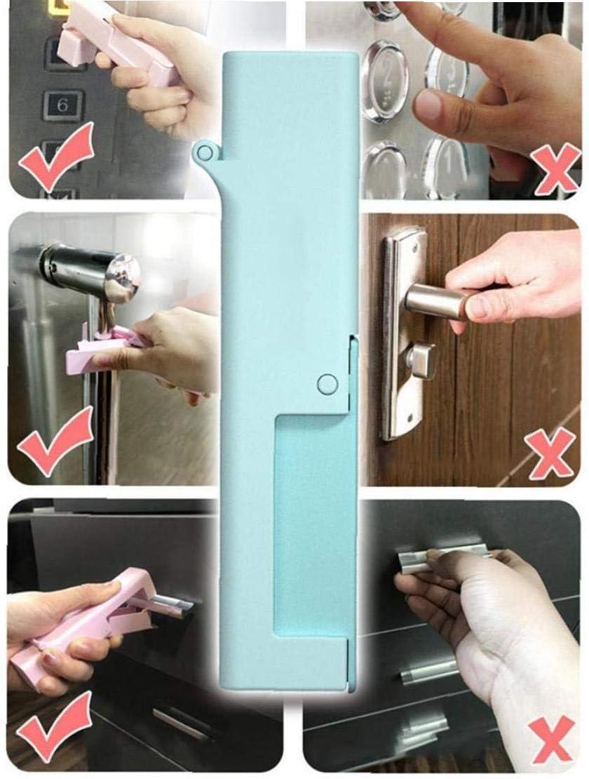 Lankater No-Kontakt-t/ür-/öffner Bewegliches Aufzug Schubladengriff /Öffnungs Assistent Werkzeuge zuf/ällige Farbe