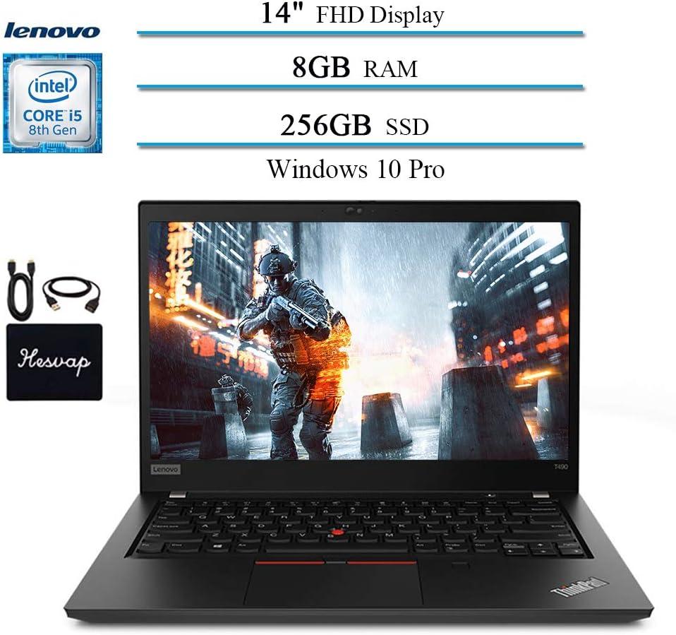 2020 Newest Premium Lenovo ThinkPad T490 Business Laptop Computer, 14