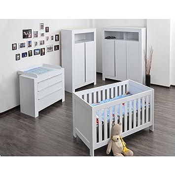 Babyzimmerkinderzimmer Komplett Felix In Weiß Komplettset