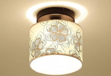 Las habitaciones de estilo contemporáneo ronda LED lámpara ...
