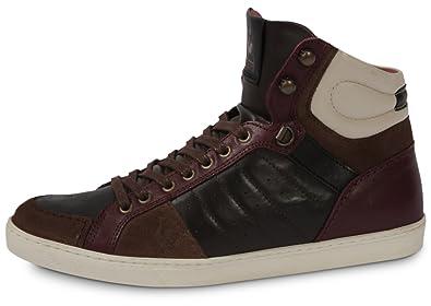 2d0ed8310bd Le Coq Sportif Perpignan Reglisse Marron 40  Amazon.fr  Chaussures ...