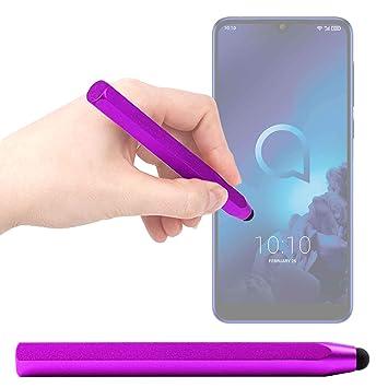 DURAGADGET Lápiz Stylus Morado para Smartphone Xiaomi Mi Mix 3 5G ...