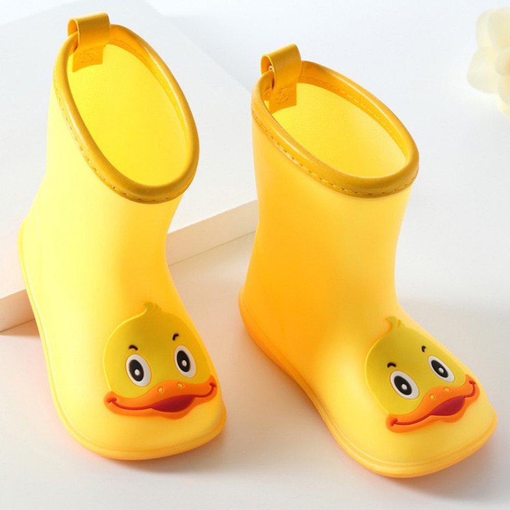 114c0bbb9febf Outsta Infant Kids Rain Shoes,Children Cartoon Duck Rubber Waterproof Warm  Boots
