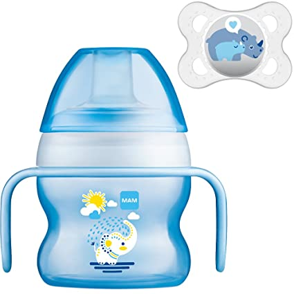 MAM Set - Starter Cup Animal 150ml Vaso de aprendizaje 4+ ...