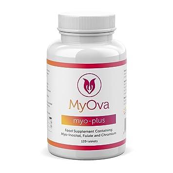 MyOva Myo-plus - Suplemento natural para síndrome de ovario poliquístico (SOP) -